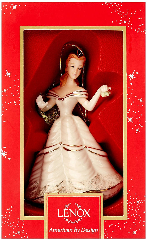 Lenox 2017 Christmastime Belle Ornament