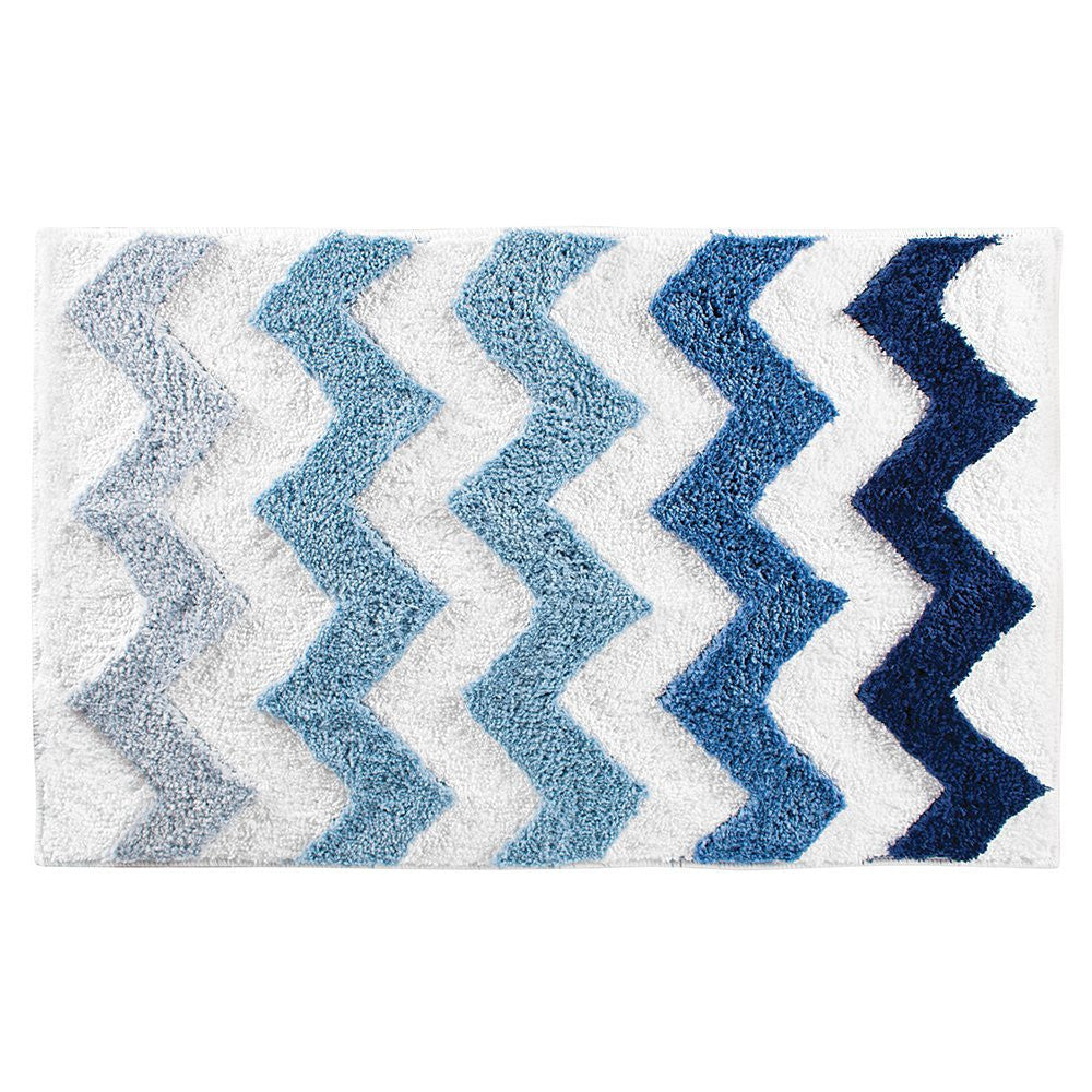 CHEVRON BATH RUG; CHEVRON BATH RUG ...
