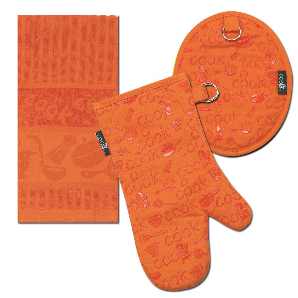 COOK KITCHEN ACCESSORIES ORANGE