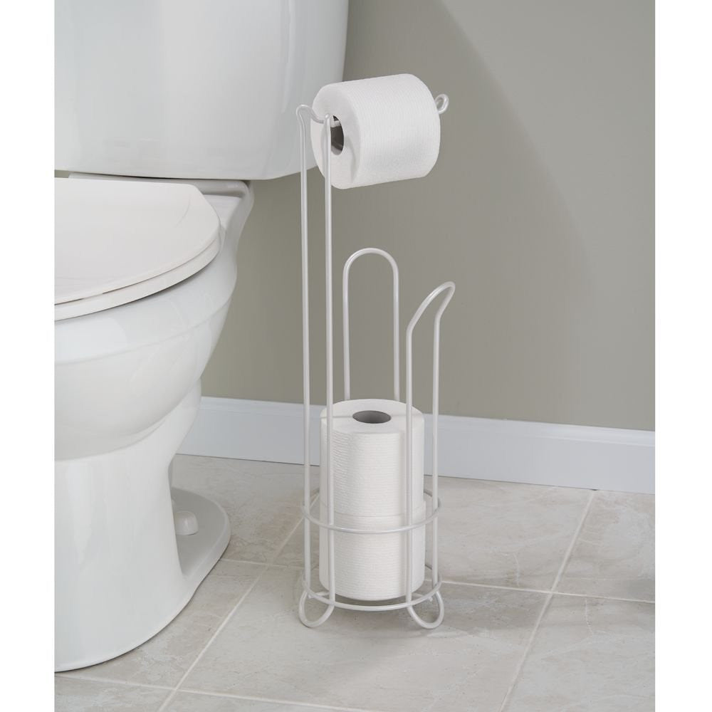 CLASSICO PEARL WHITE TOILET PAPER HOLDERS