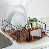 FORMA LUPE DISH RACK WITH TRAY