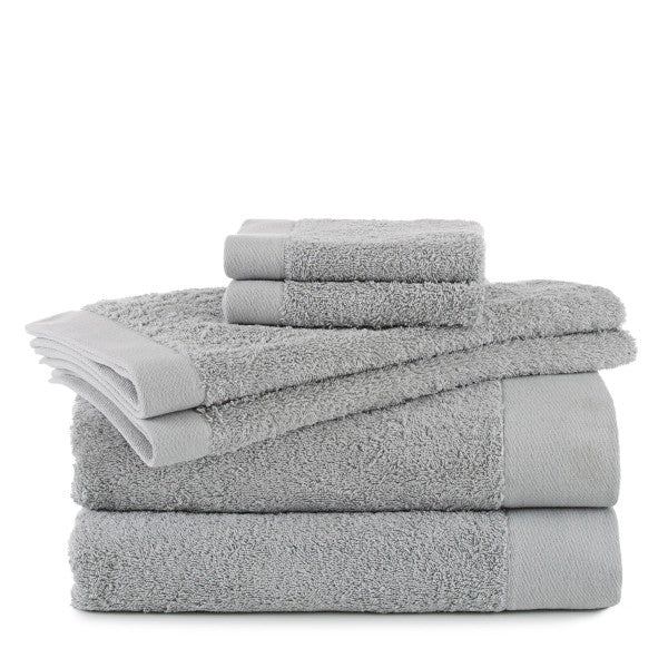 Flatiron Terry Flax Towels grey