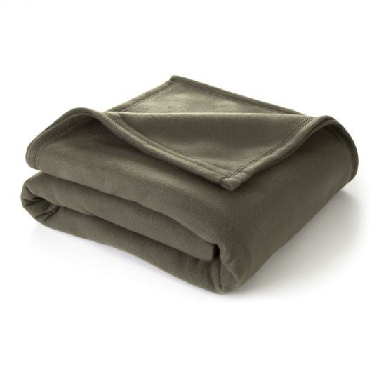 martex super soft fleece blanket GREEN