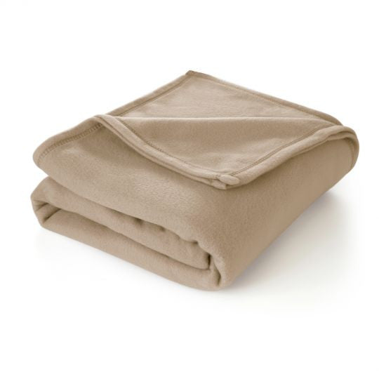 martex super soft fleece blanket TAN