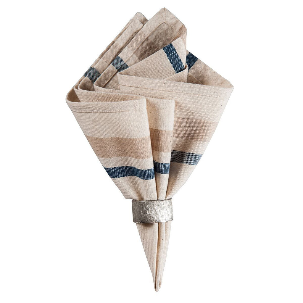 French Stripe napkin bluje