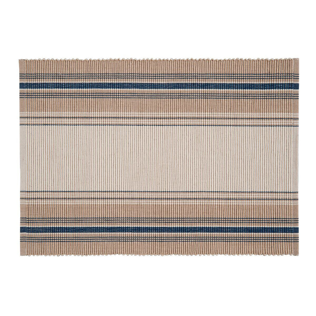 French Stripe placemat blue