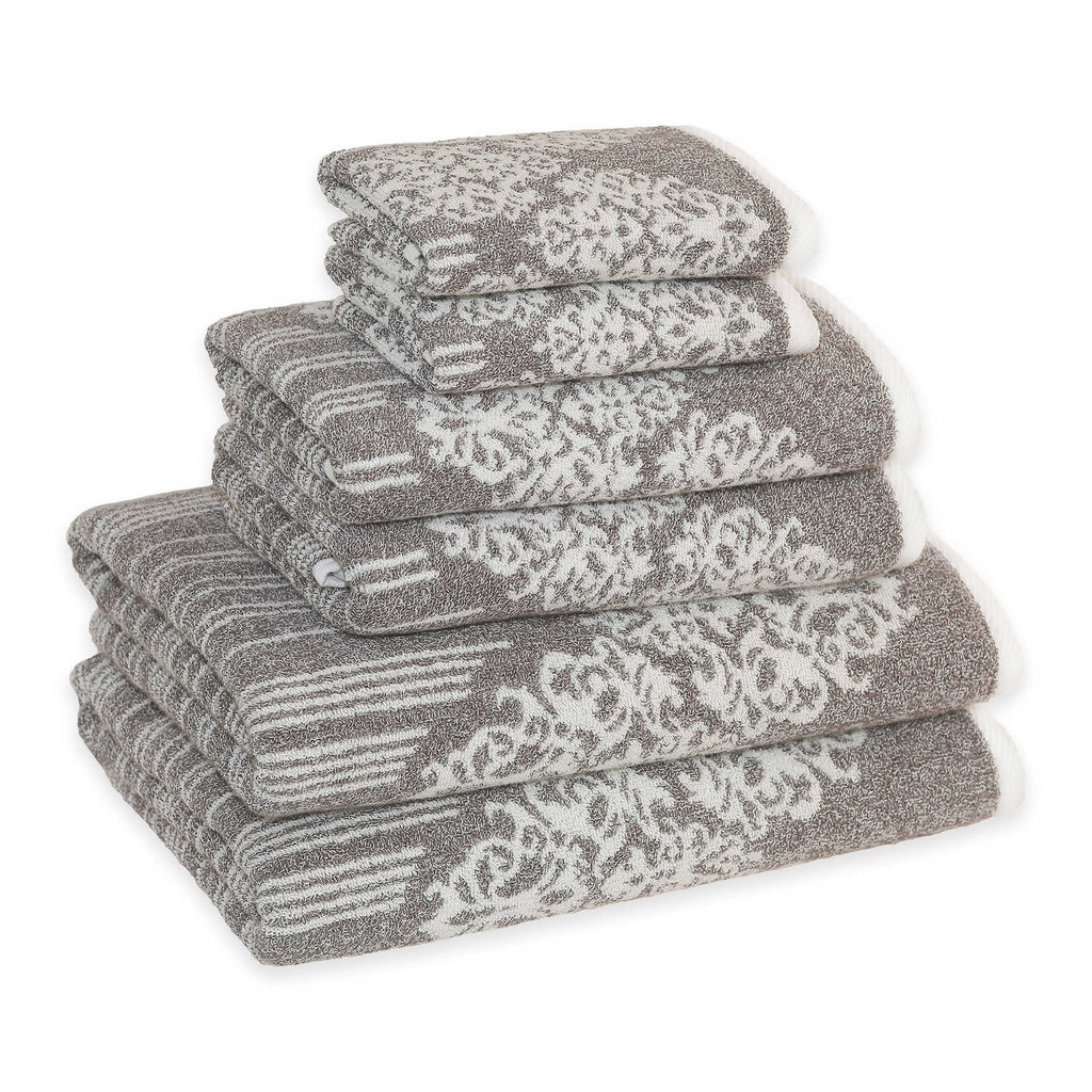 Linum Home Gioia Towels brown