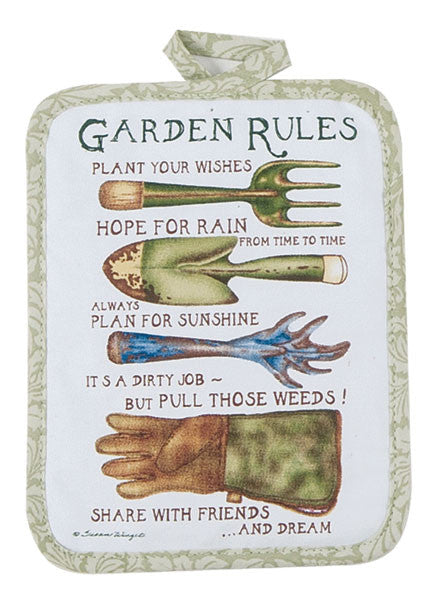 GARDEN RULES KITCHEN ACCESSORIES