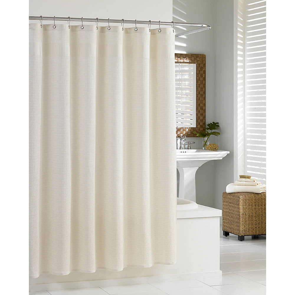 treatment park water stain home washable madison spa curtain repellent com waffle amazon x curtains resistant l grey machine dp shower w with