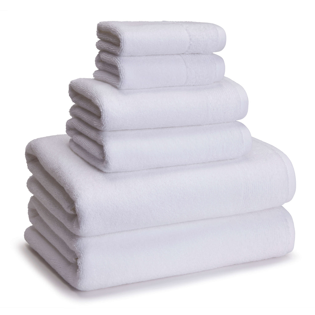 Kyoto Bamboo Towels White