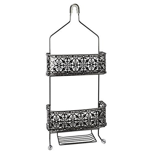 LACE SHOWER CADDY ANTIQUE NICKEL
