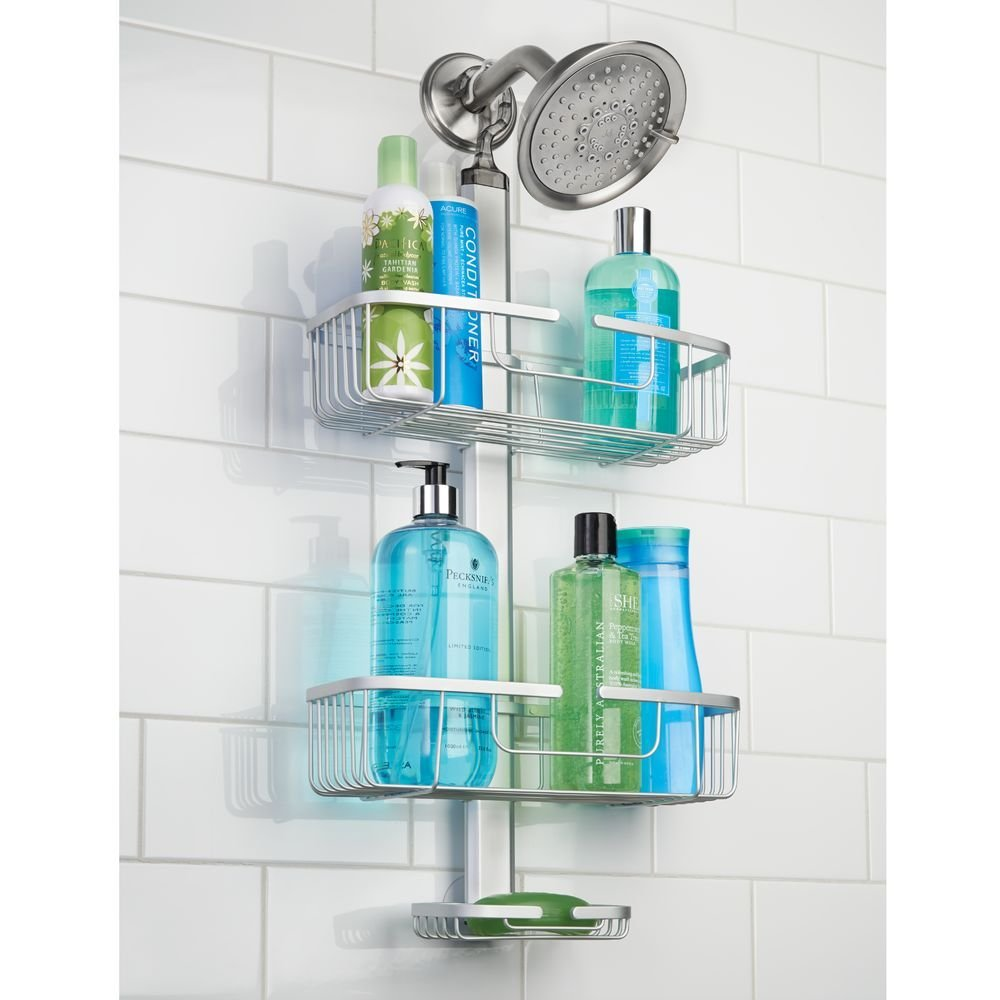 Interdesign Metro Rust Proof Adjustable Shower Caddy
