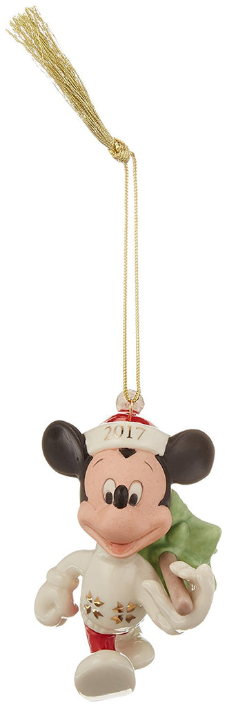 Lenox 2017 Trimming The Tree Mickey Ornament
