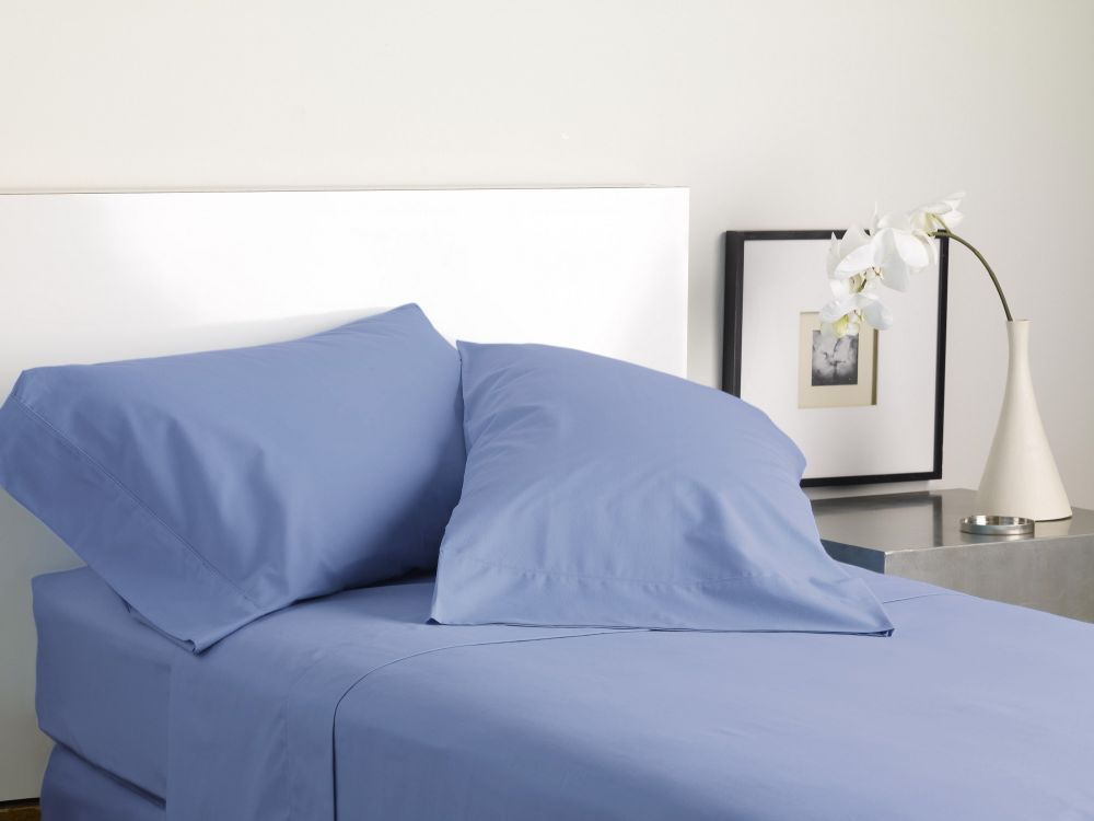 MODERN LIVING SOLID COLOR T300 SHEET SET evening