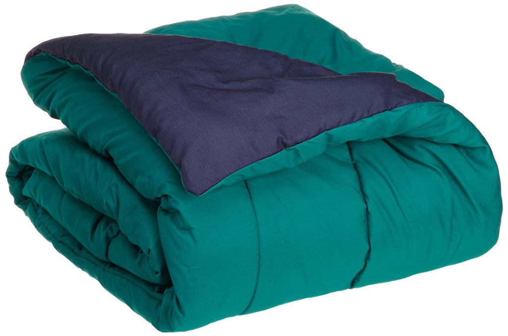 MARTEX REVERSIBLE COMFORTER navy teal