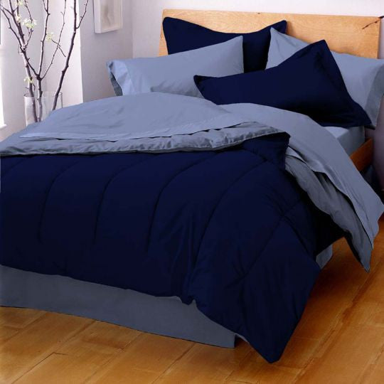 MARTEX REVERSIBLE COMFORTER blue