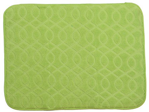 NECESSITIES KITCHEN ACCESSORIES DRY MAT LEMONGRASS