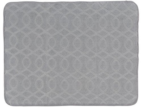 NECESSITIES KITCHEN ACCESSORIES DRY MAT GREY-MIST