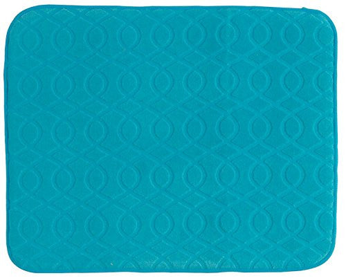 NECESSITIES KITCHEN ACCESSORIES DRY MAT TURQUOISES