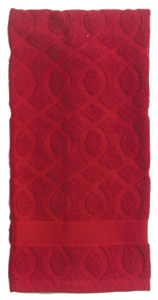NECESSITIES KITCHEN ACCESSORIES KTOWEL SCARLET