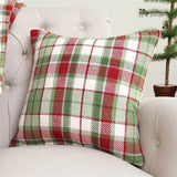 owen plaid pillow