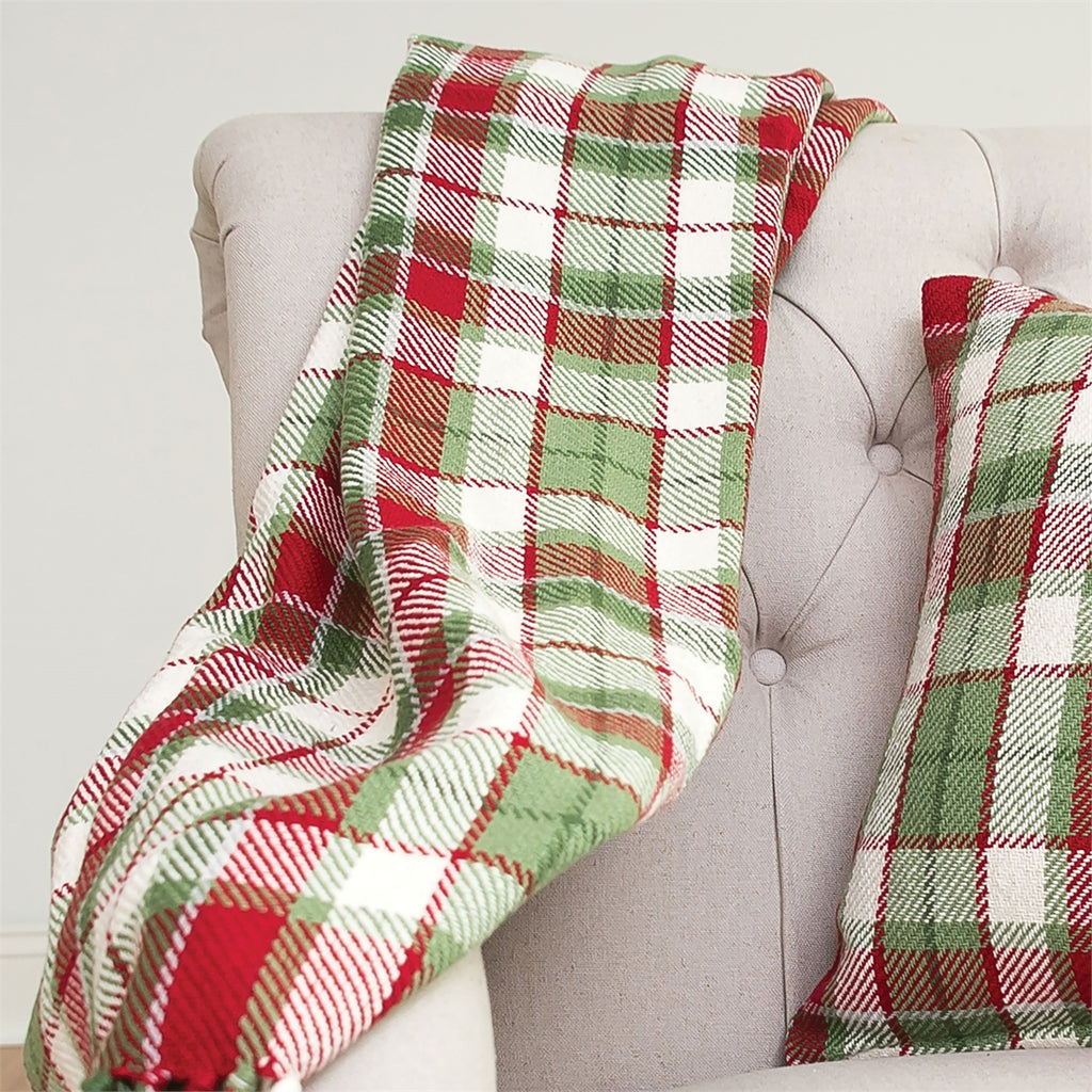 owen plaid throw