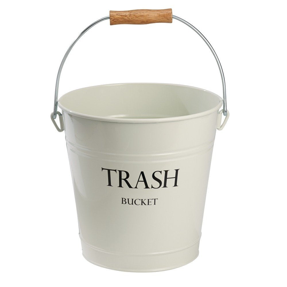 PAIL WASTECAN WHITE