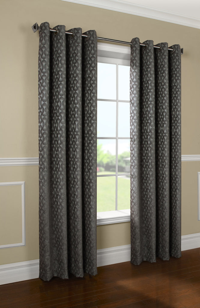 rope chenille curtain