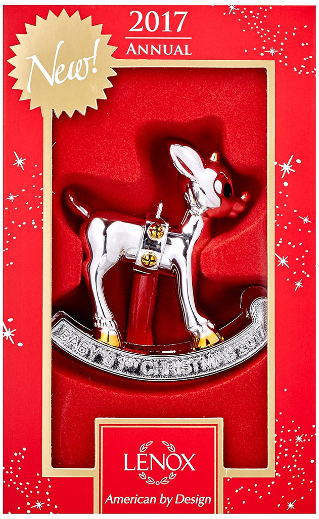 Lenox 2017 Baby's First Christmas Ornament