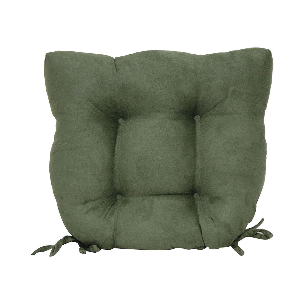 super suede chair pad green