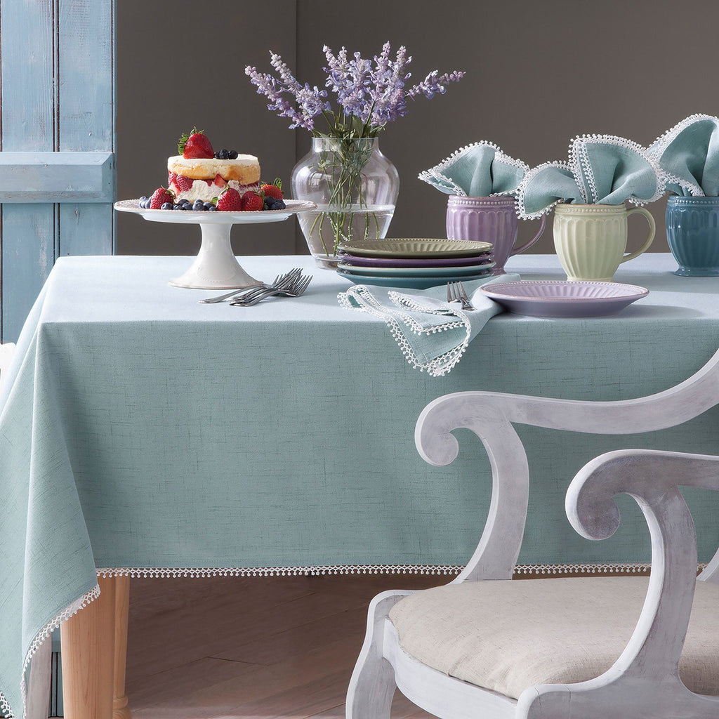 lenox french perle solid tablecloth ice blue