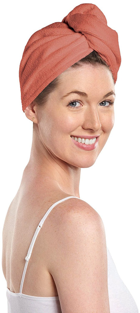 Martex Hair Wraps coral