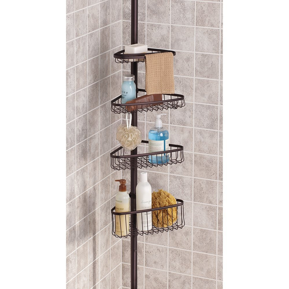 YORK TENSION SHOWER CADDY 2