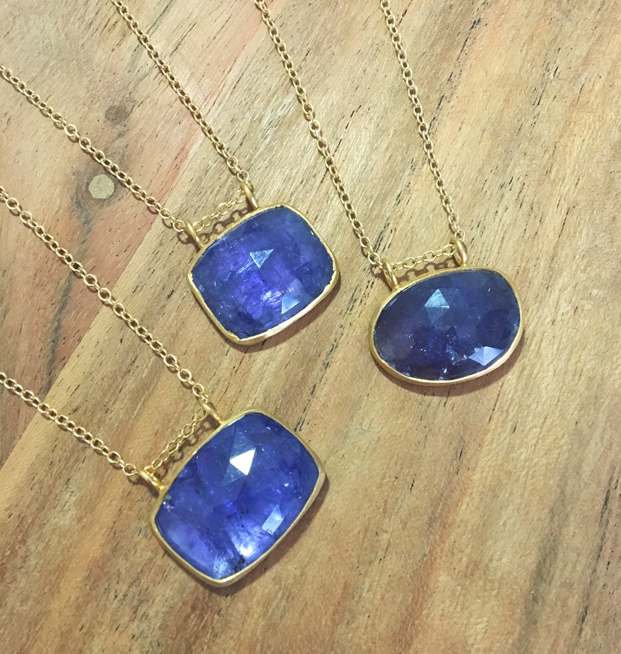 helene necklace one de tanzanite a by taillac l ne purple first h kind of large marie loading lady