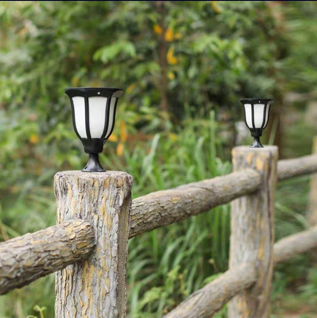 5w solar real torch lamps(2PACK) 3modes  lighting/3 modes installation