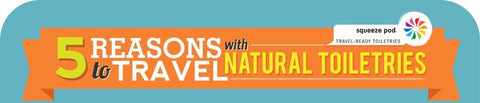 5 Reasons to Travel with Natural Toiletries