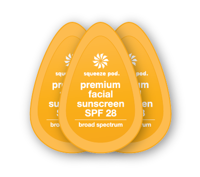 Travel Size Premium Facial Sunscreen SPF 28 - Broad Spectrum