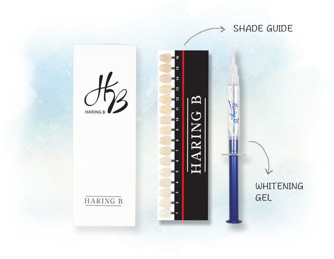 Haring B On The Go Teeth Whitening kit