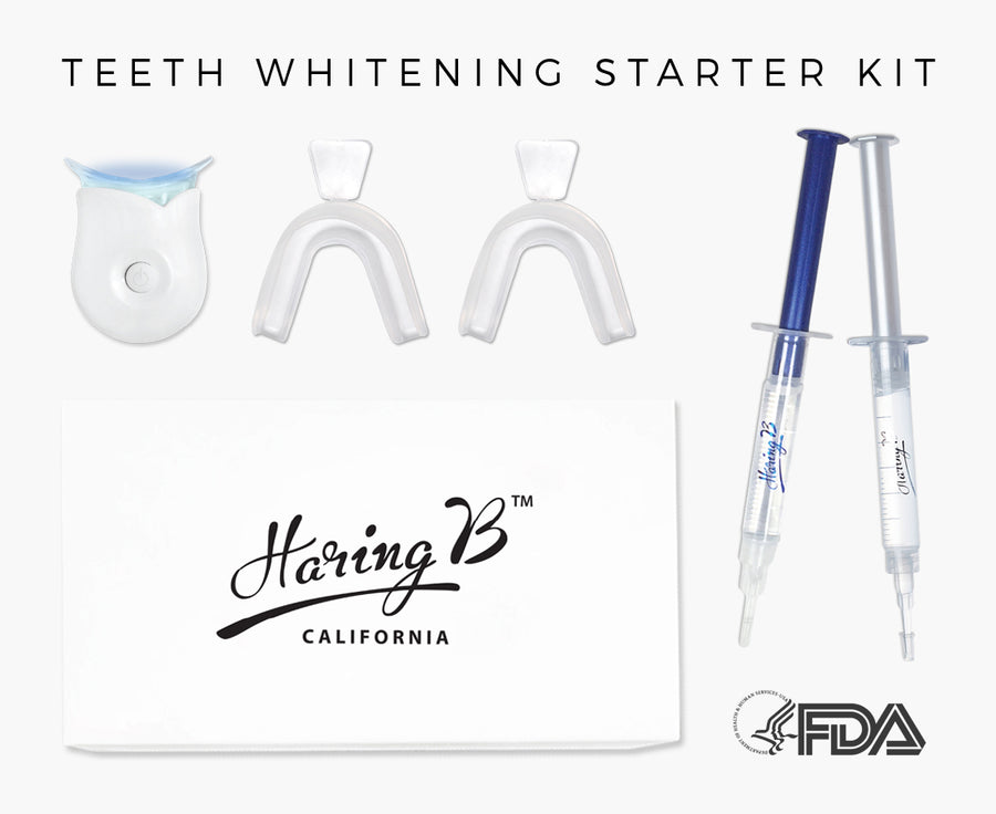 Haring B Teeth Whitening Starter Kit