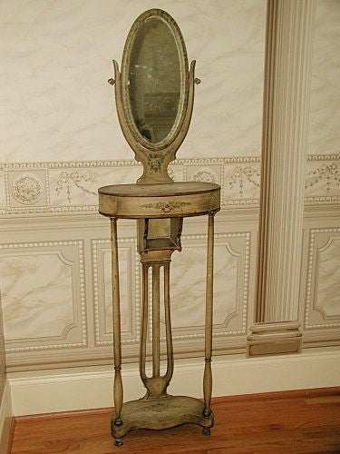 Rare French Vanity With Original Mirror 18th Century Stunning