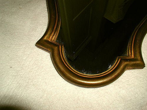 French gilt mirror carved C.1900