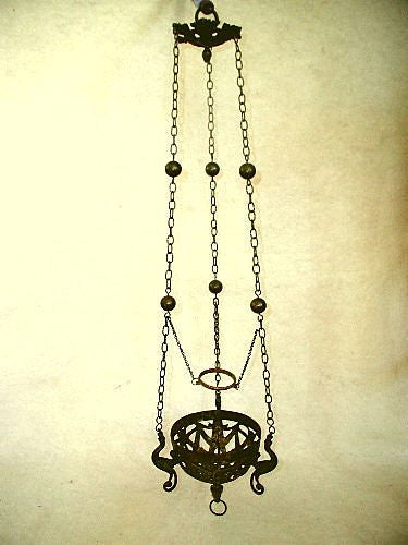 Sanctuary Fixture Bronze France Early 1800's Hand Forged