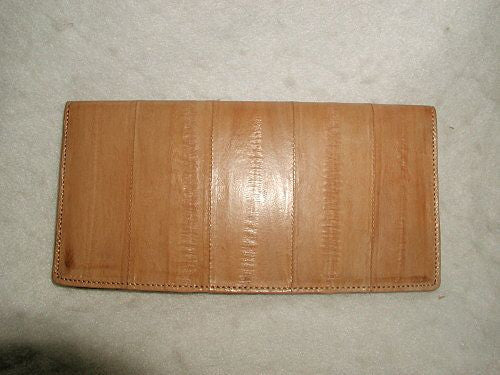 Eel Skin Wallet Pocket Secretary Italy Early 1900's