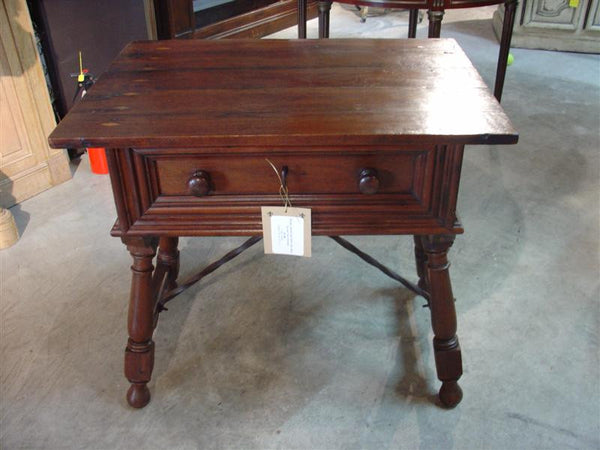 Spanish Baroque Style Walnut Wood Table