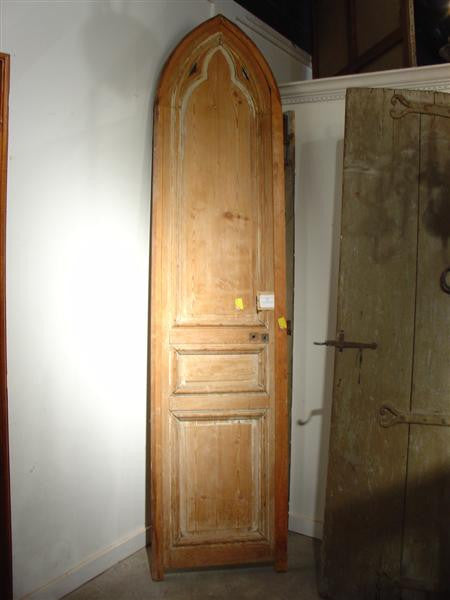 Antique Gothic Door from a Chapel in France