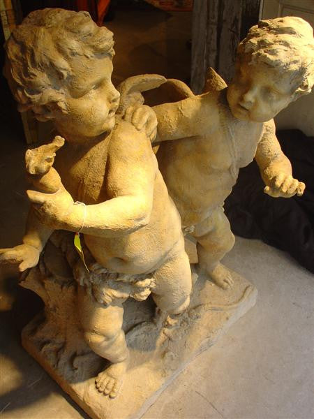 Cast Stone Cherubs from France