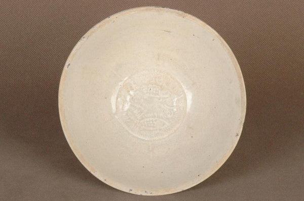 Chinese Song Dynasty Qingbai Bowl w Fish , 1000 AD
