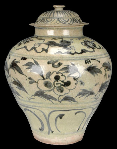 Masterpiece Chinese Yuan Blue and White Porcelain Jar Oxford TL