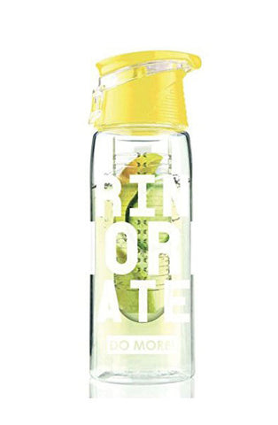 Detox Water Bottle (Yellow)