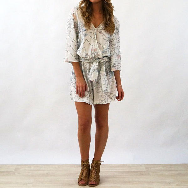 Provence Playsuit